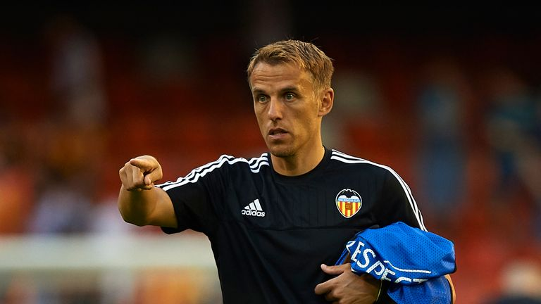 Phil Neville's move to spain was all about getting out of his comfort zone