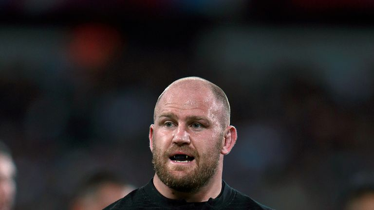 Ben Franks is another All Black on the Baa-Baas side on Saturday