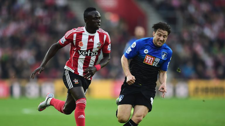 Harry Arter (right) and Bournemouth struggled in the first half against Southampton last weekend
