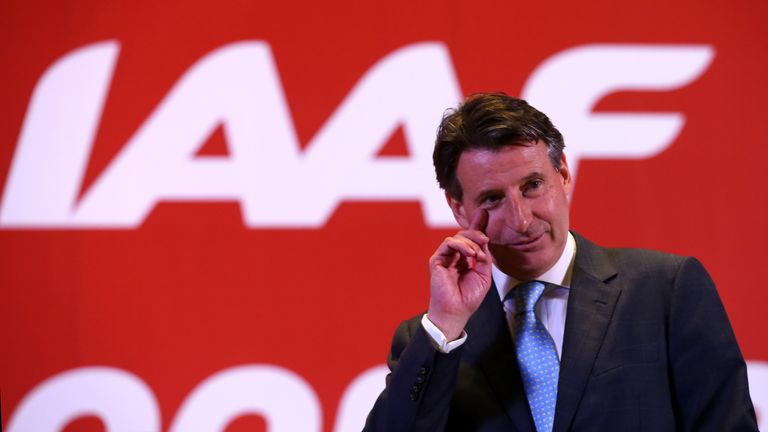 Lord Coe was elected the IAAF president in August