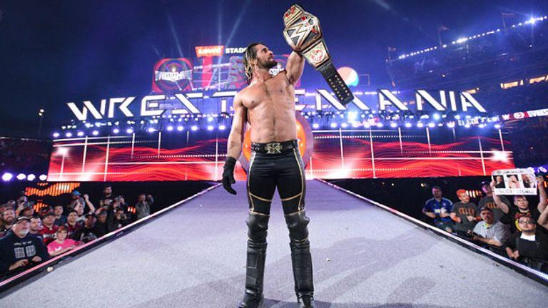 Seth Rollins won the world title at WrestleMania 31