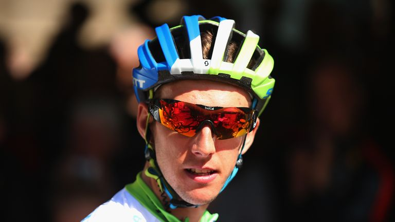 Simon Yates has just ended his 2015 off-season