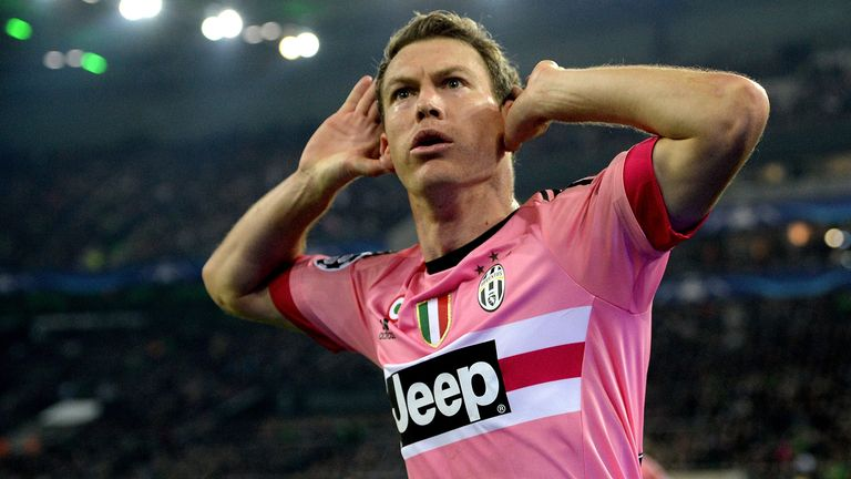Lichtsteiner has won seven consecutive Serie A titles at Juventus