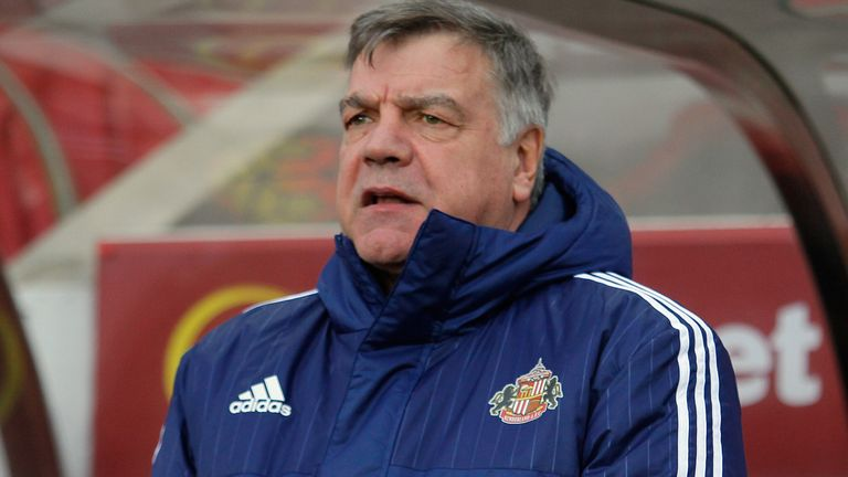 Sunderland manager Sam Allardyce has earned three wins in six games since taking over