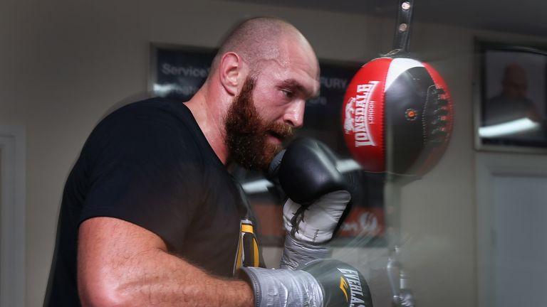 Tyson Fury fights Wladimir Klitschko on Saturday night for the world heavyweight title