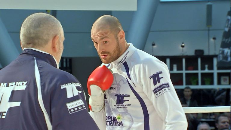 Tyson Fury needs some nerves ahead of the big one, says Paul