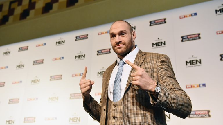 Tyson Fury is ready to take his career to a new level