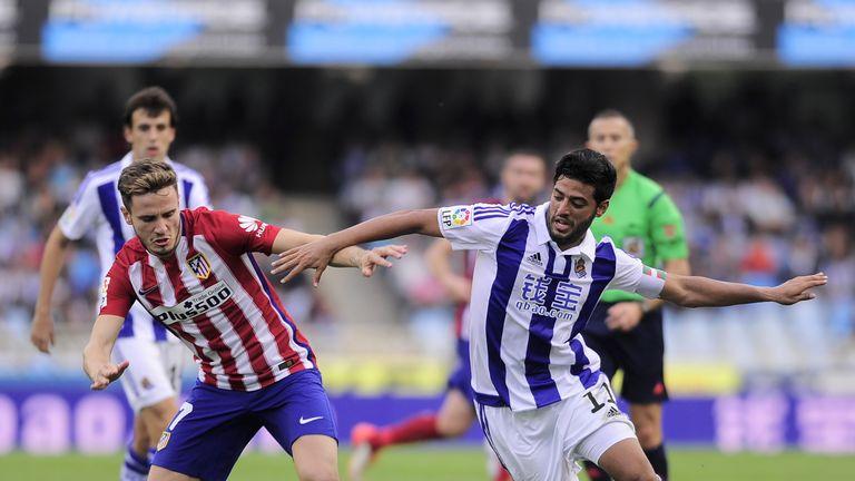 Real Sociedad's Mexican forward Carlos Vela