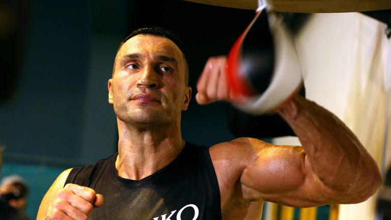 Wladimir Klitschko has been backed by Anthony Joshua