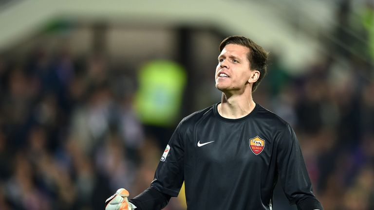 Wojciech Szczesny has established himself as Roma's number one goalkeeper.