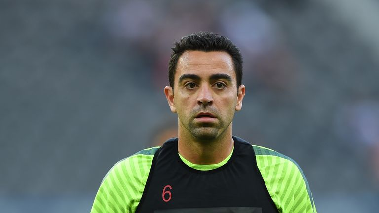 The former Barcelona midfielder is currently playing in Qatar with Al Sadd