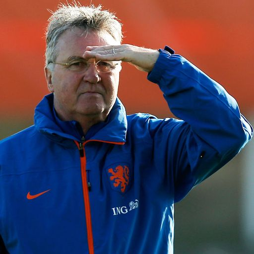 Focus on Hiddink