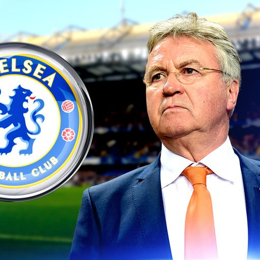 Chelsea hold Hiddink talks
