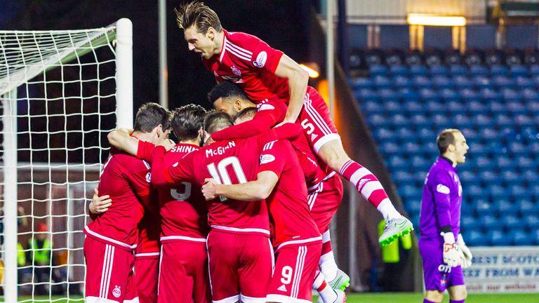 Aberdeen were comfortable winners at Kilmarnocj