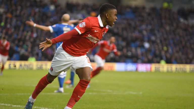 Ademola Lookman has made a big impact during his rookie season in Charlton's first-team