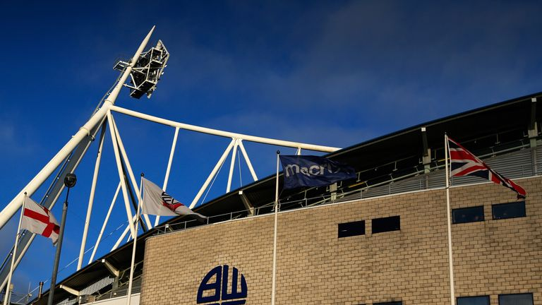Bolton players are set to be paid their December wages