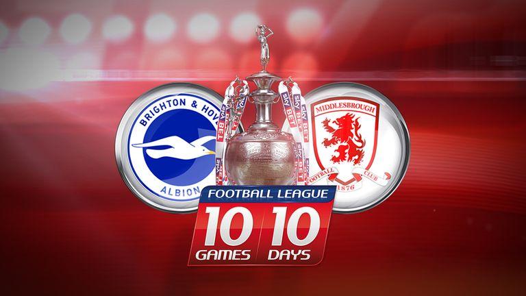 10 in 10 - Brighton v Middlesbrough
