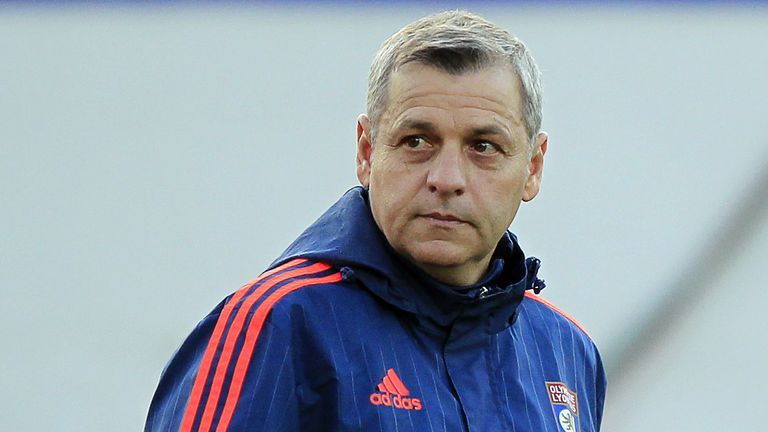 Bruno Genesio is Lyon's new head coach