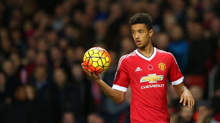 Cameron Borthwick-Jackson of Manchester United