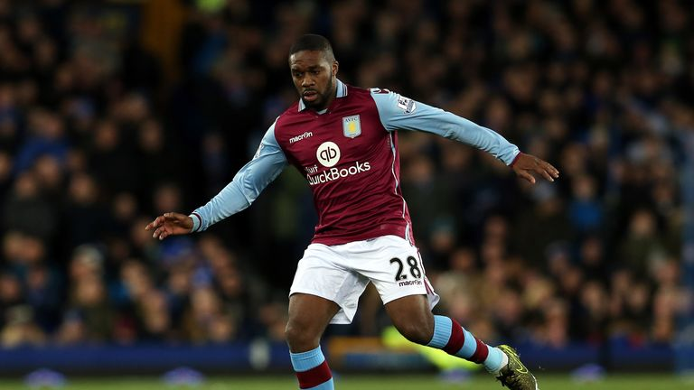 Aston Villa manager Remi Garde has questioned Charles N'Zogbia's commitment