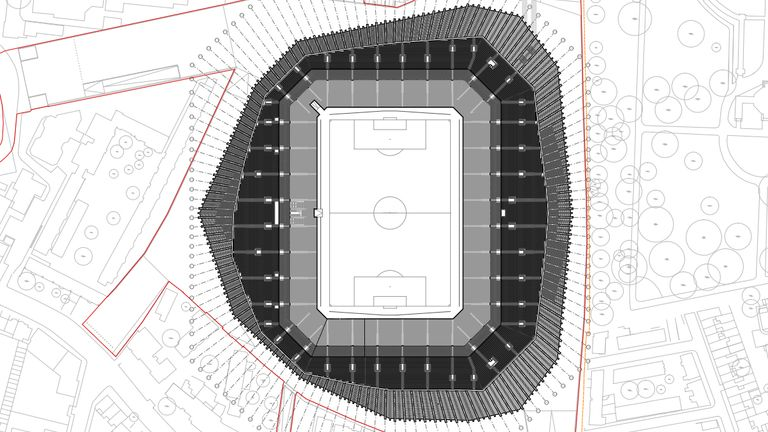 Chelsea have submitted plans for a new stadium at Stamford Bridge
