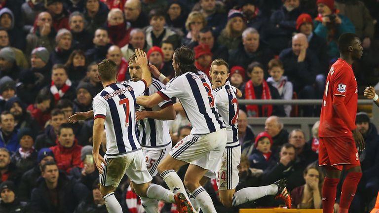 Craig Dawson goal celebrates his equaliser