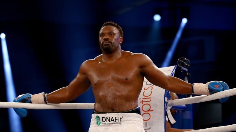 Dereck Chisora has won five fights since losing to Tyson Fury