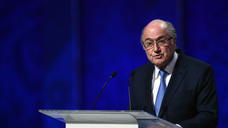Sepp Blatter claims European draws fixed by using hot and cold balls