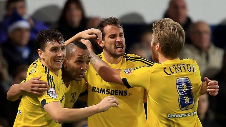 Middlesbrough have won their last two games 2-0