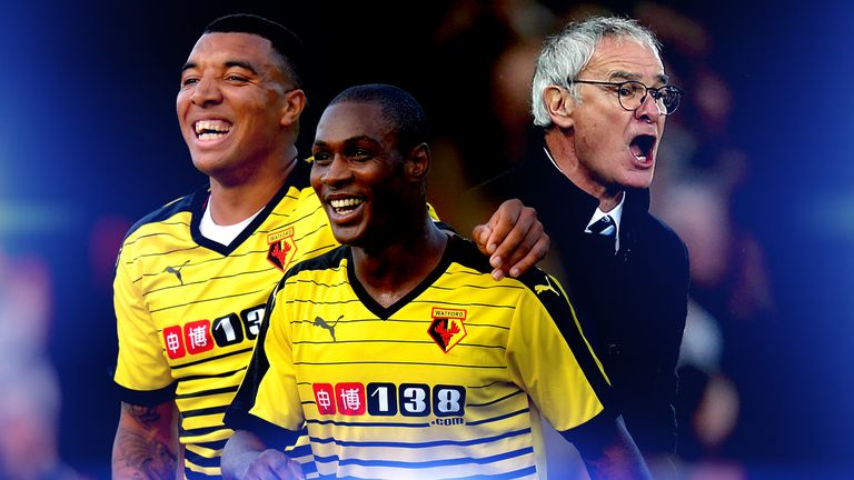 Watford and Leicester have had success with 4-4-2 this season