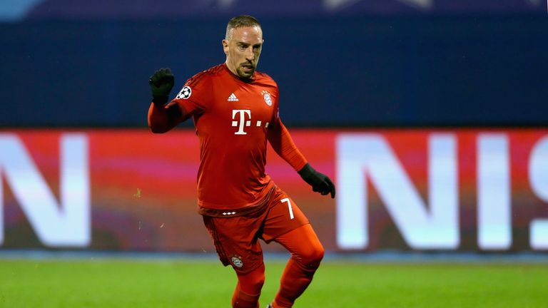 Franck Ribery scored the only goal of the game for Bayern Munich