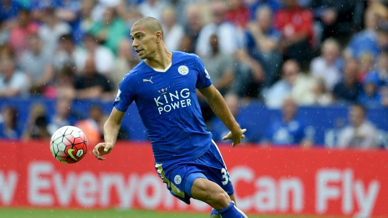 Gokhan Inler has made five Premier League appearances since joining Leicester