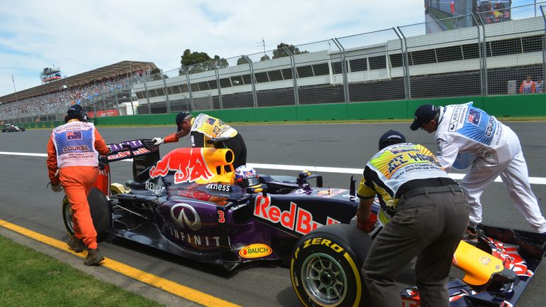 A regular sight for Red Bull since F1's turbo regulations were introduced