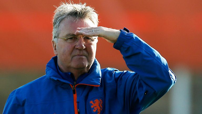 Gus Hiddink is tipped to take the Chelsea post