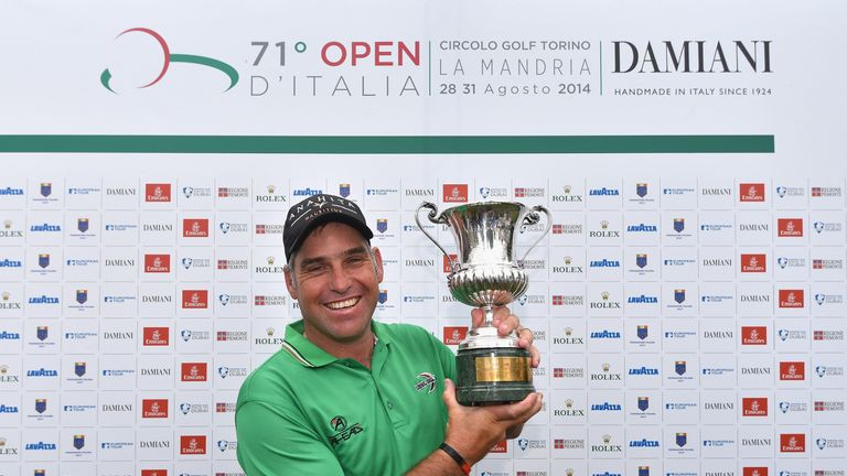 Hennie Otto claimed August's Italian Open title