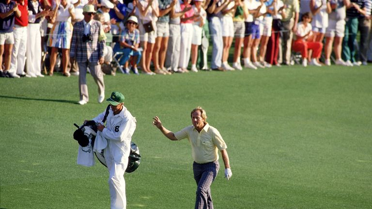 Jack Nicklaus secured his 18th major title with victory in the 1986 Masters