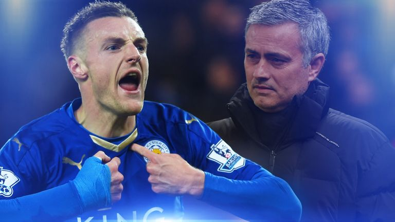 Jamie Vardy and Leicester were too good for Mourinho's Chelsea on Monday