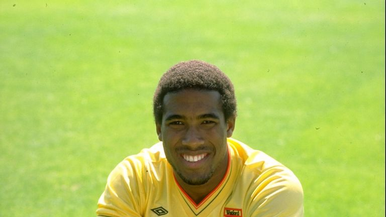 Barnes debuted at Watford in 1981 and went on to appear almost 300 times