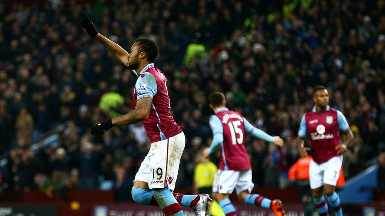 Aston Villa saved a point against West Ham
