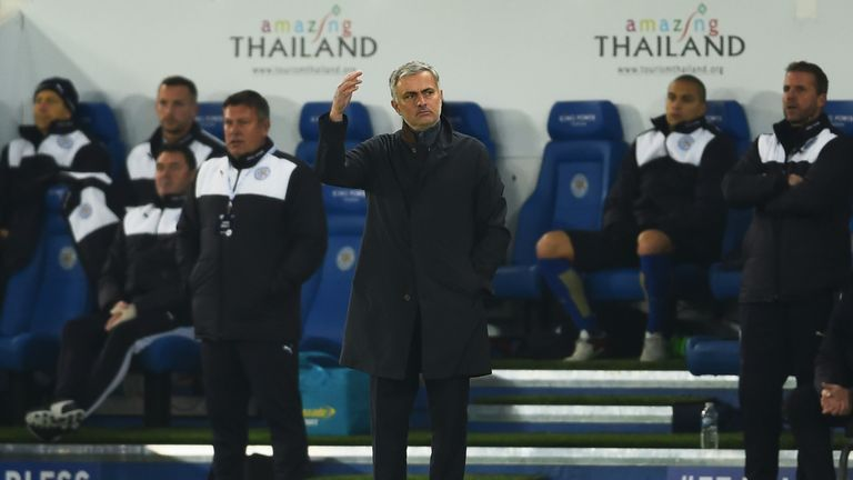 Jose Mourinho: Another frustrating night for the Chelsea boss