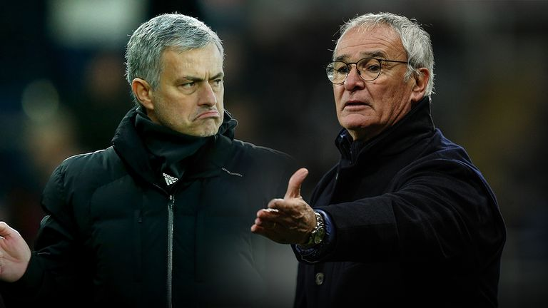 Mourinho and Claudio Ranieri will go head to head in the Community Shield clash at Wembley