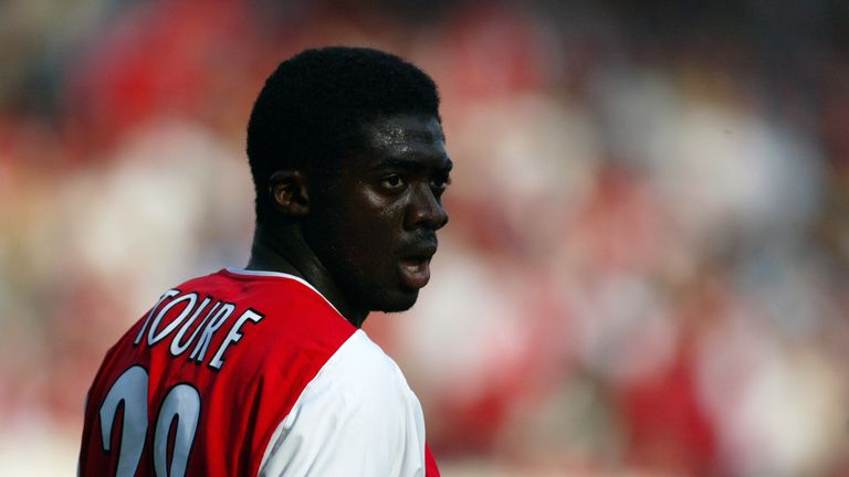 Kolo Toure forged a formidable partnership with Sol Campbell