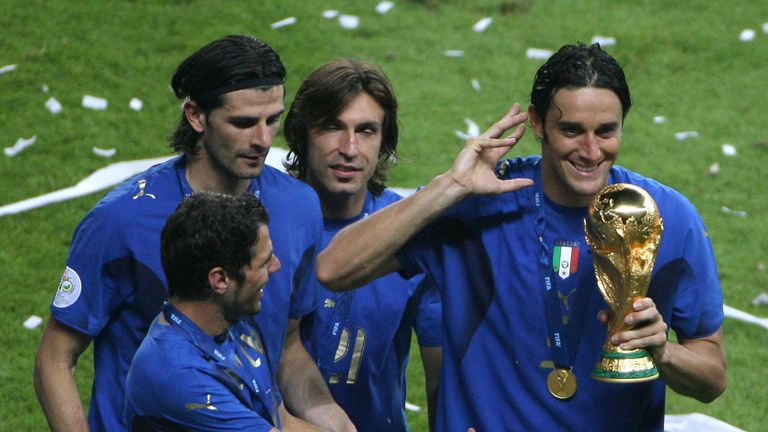 Italy World Cup Winner Luca Toni Set To Retire From Football