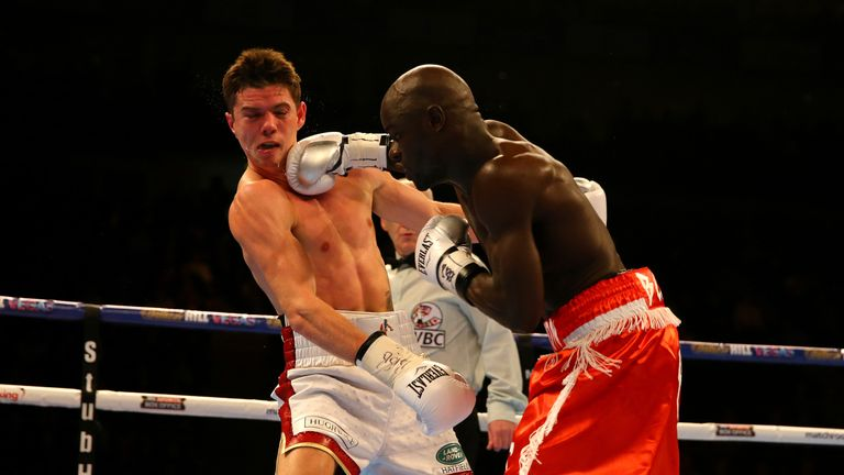 Yvan Mendy caused an upset when he beat Campbell on points