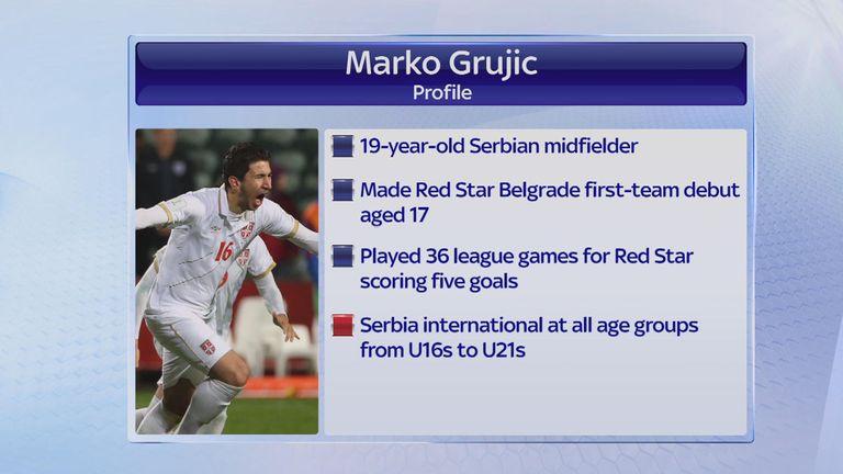 Marko Grujic factfile