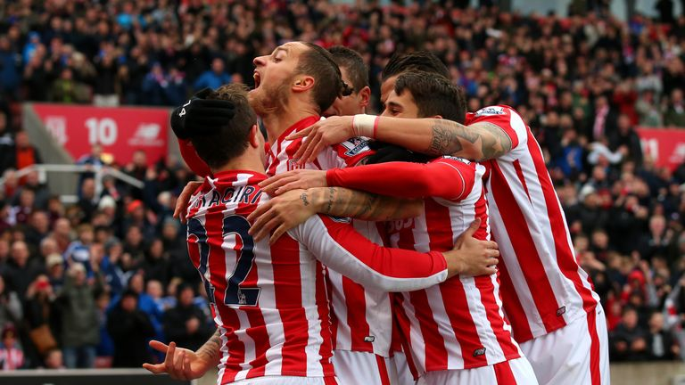 Stoke City sit 11th in the Premier League following their 2-0 win over Manchester City