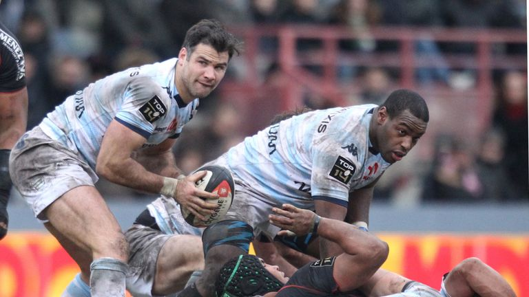 Phillips has been with Racing 92 since 2013