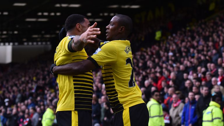Odion Ighalo and Troy Deeney have been lethal this season - apart from against Southampton