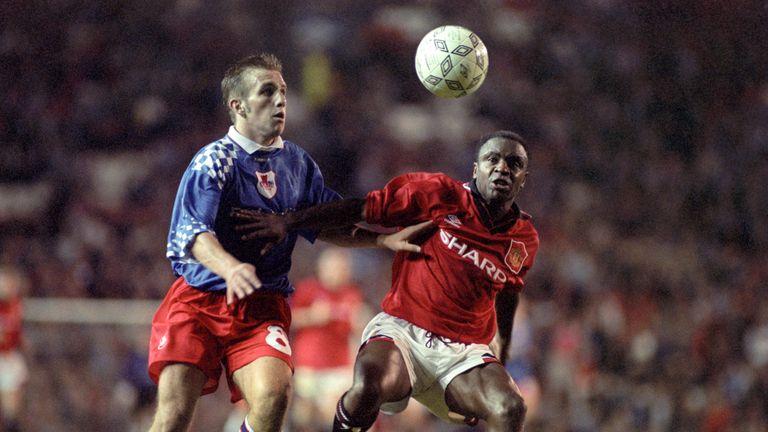 Paul Parker, Manchester United, 1995
