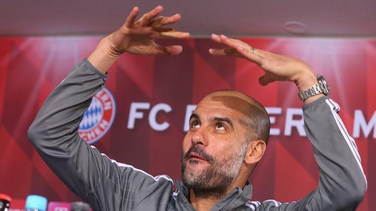 Pep Guardiola, head coach of Bayern Munich